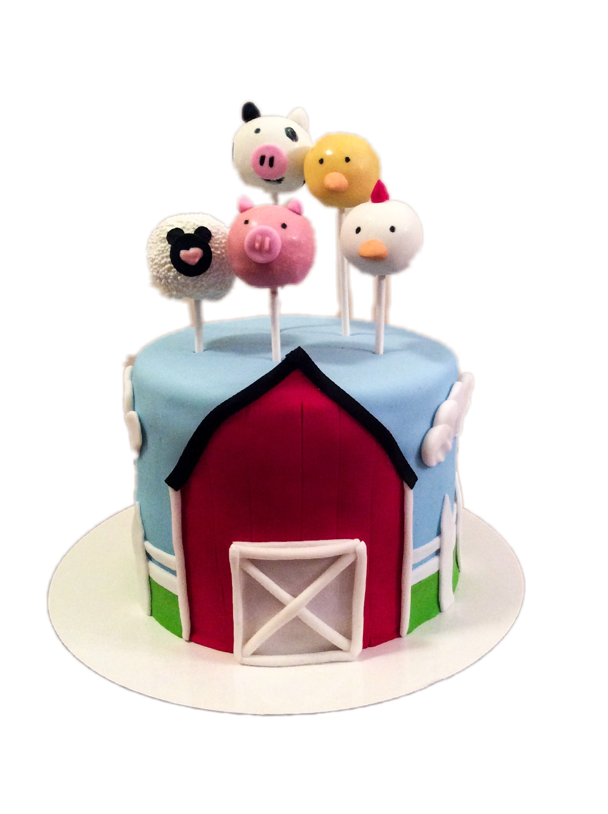 Barn & Farm animals Cake