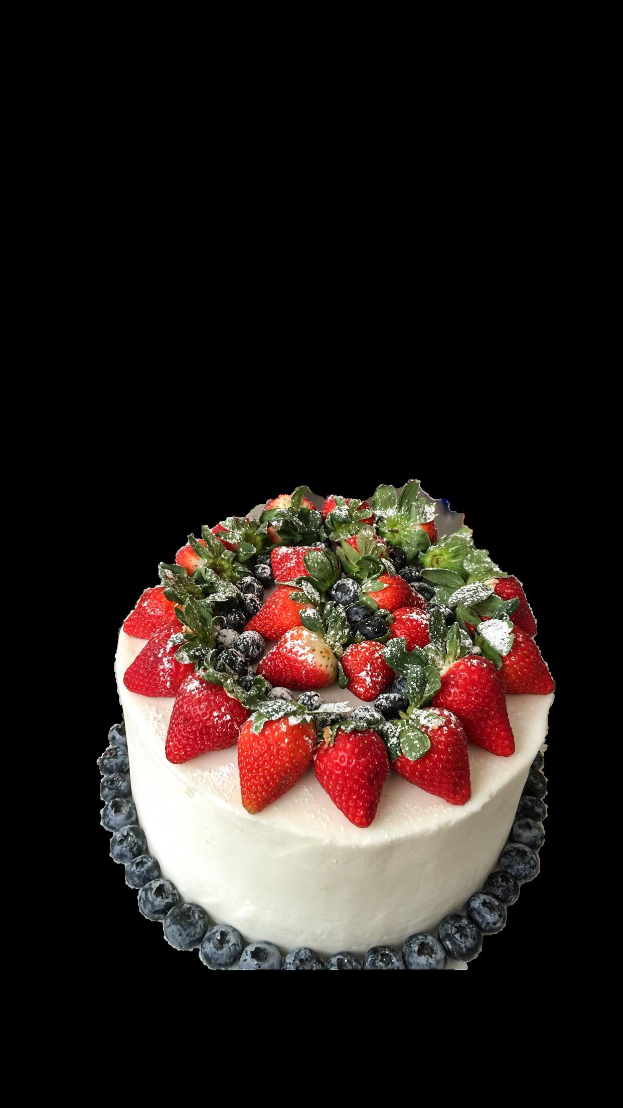 Spring fruit cake