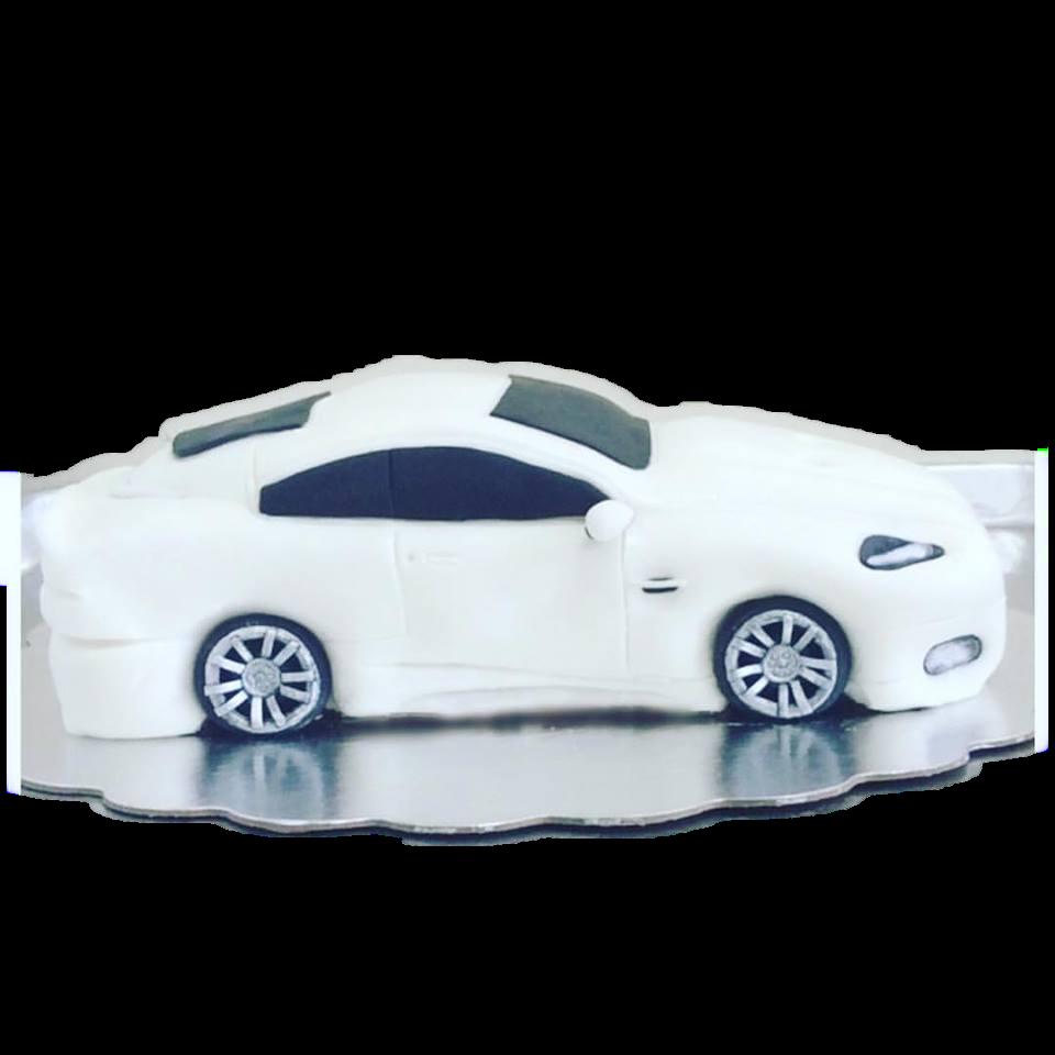Convertible Car Cake