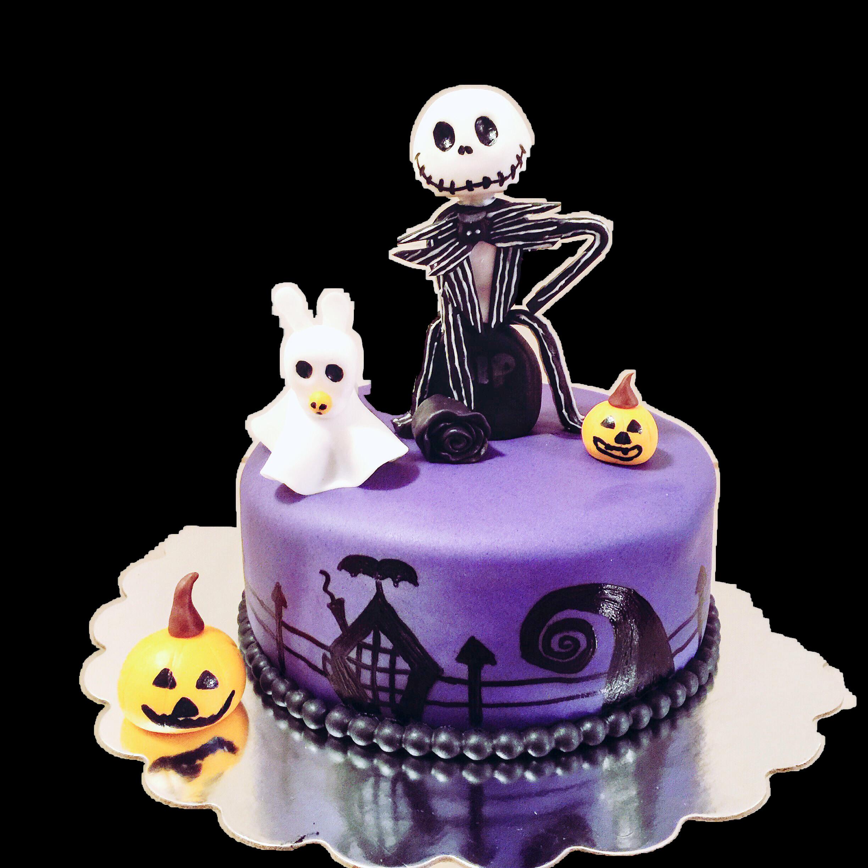 Jake Skellington Cake