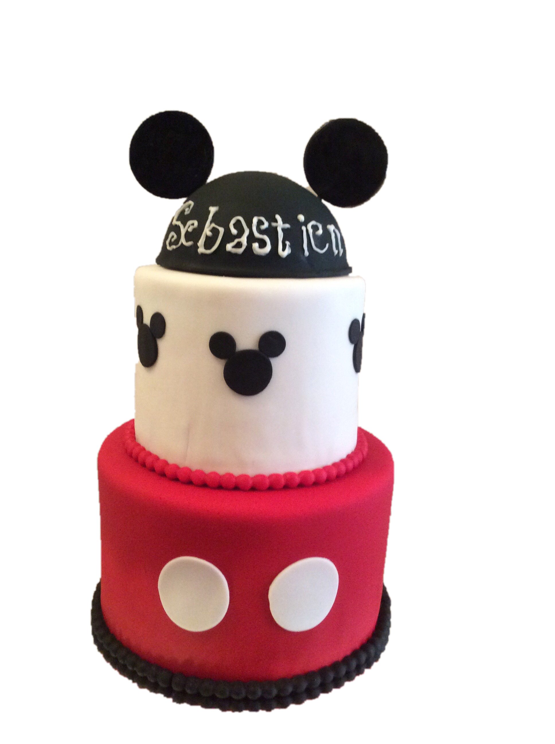 Mickey Mouse Shower cake