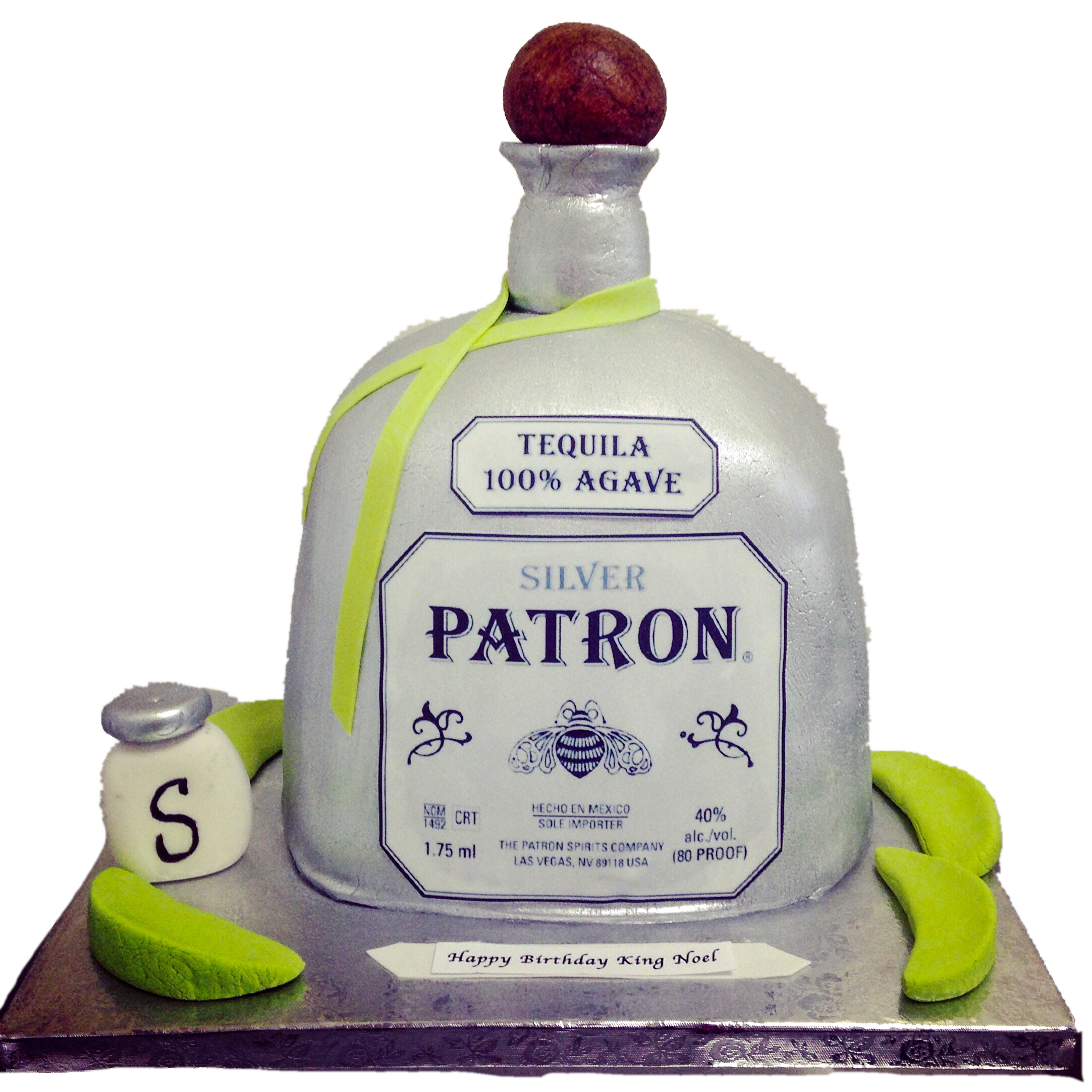 Patron Bottle Cake