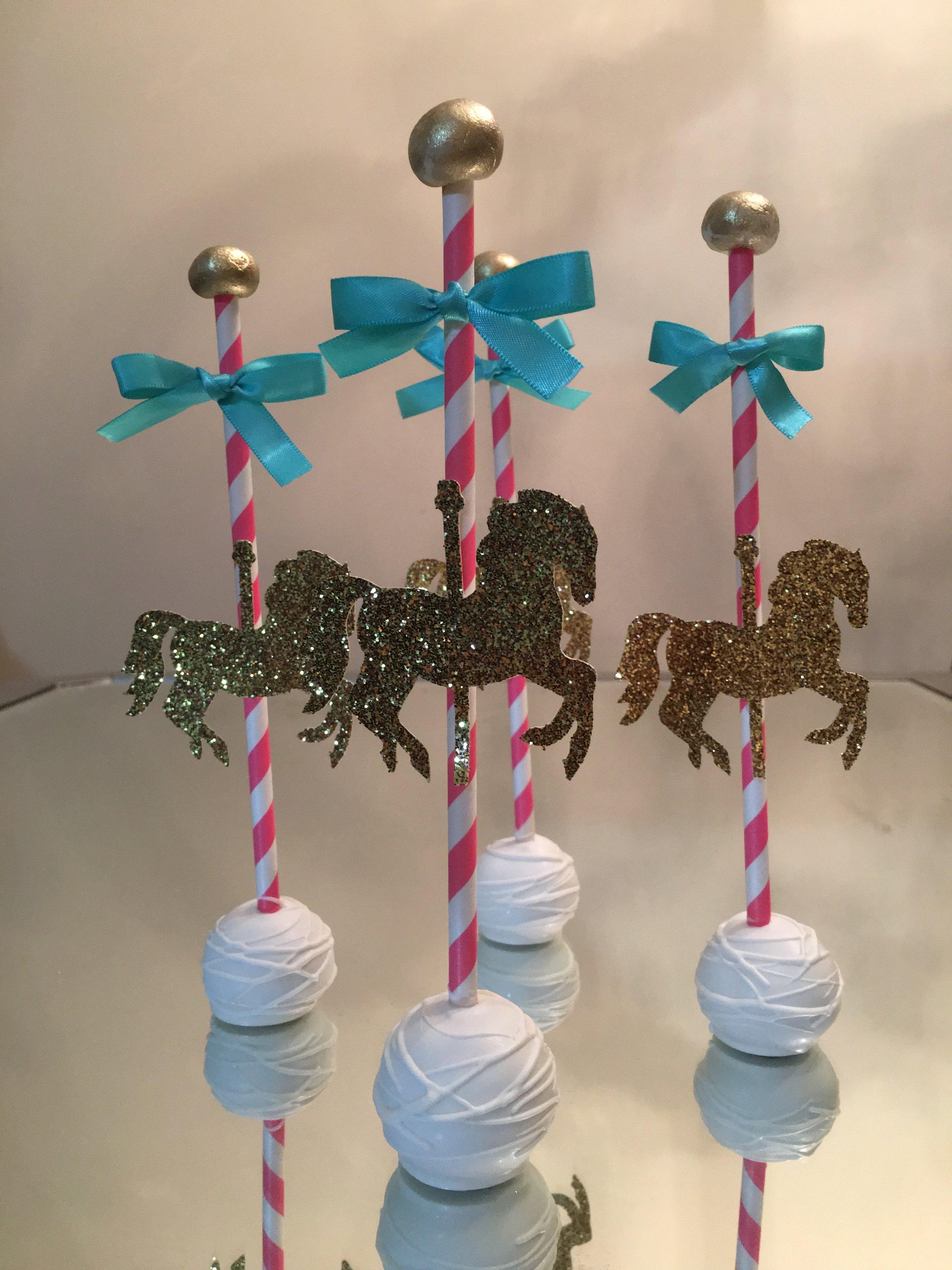 Carousel Cake Pops