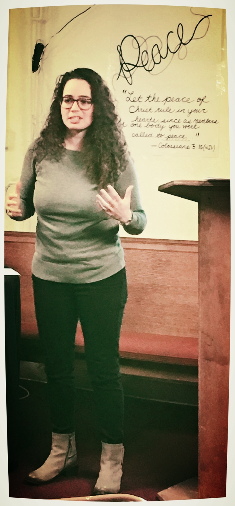 Sarah Gautier shares her journey of connecting with the Lower Roxbury community through her ministry to youth at Congregation Lion of Judah.