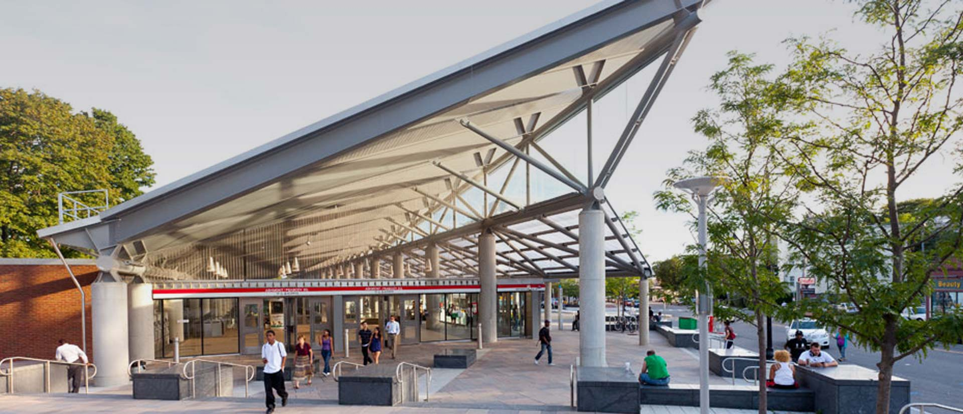 Ashmont Station, Dorchester, MA.