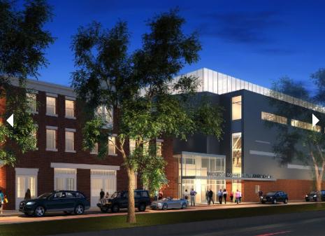 The future  Jackson Square Recreation Center .