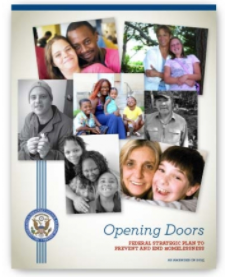 Federal Strategic Plan to Prevent & End Homelessness