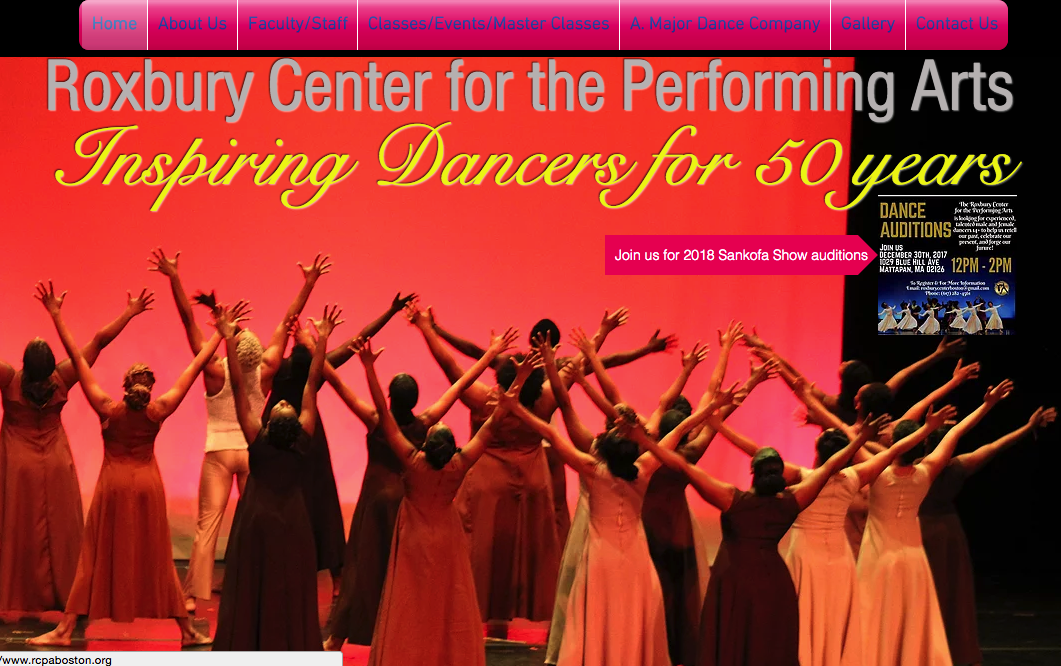 Roxbury Center for the Performing Arts website