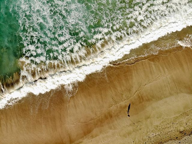 Rain...beach...NZ.