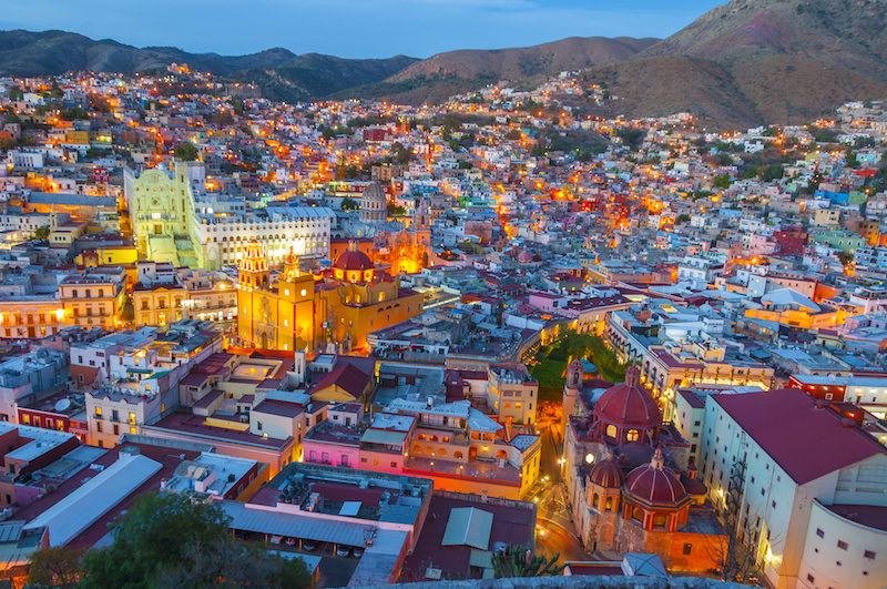 Guanajuato city, Mexico. A UNESCO World Heritage Site, and one of the most beautiful cities in Latin America.