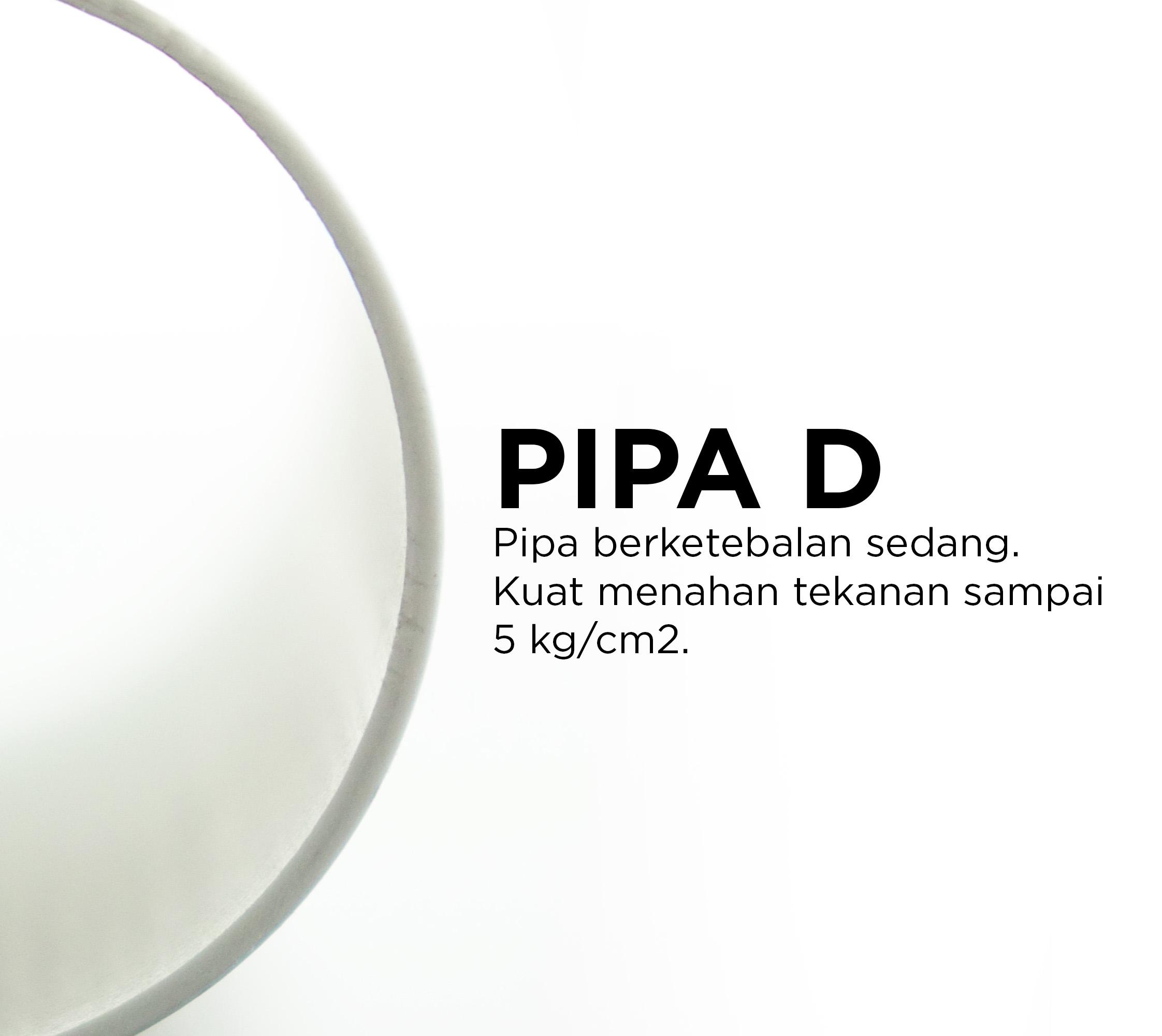 Pipa PVC, Pipa Paralon