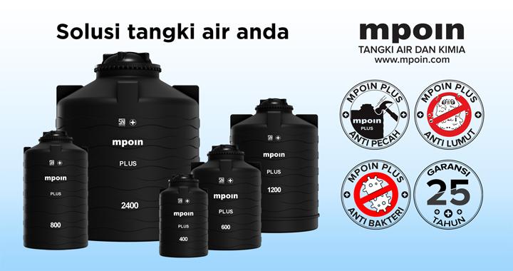 Solusi Tangki Air Untuk anda - Tandon Air Terkuat Anti Lumut, Anti Pecah, dan Anti Bakteri