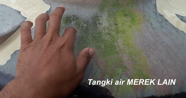 Contoh Gambar Tangki Air Merek Lain Berlumut - Cara Membersihkan Lumut Pada Tangki Air
