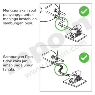 Cara Pemasangan Pipa Air Pada Tandon Air yang Benar