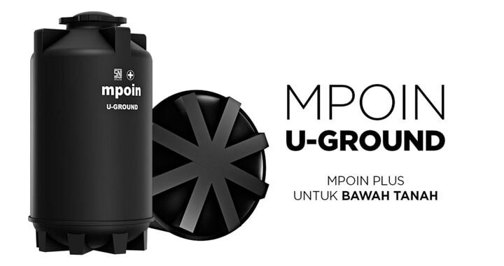 MERK TANDON AIR PENDAM TERBAIK - MPOIN U-GROUND