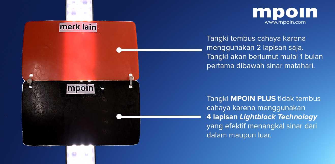Tangki Air, Tandon Air, Toren Air, Pipa PVC - Tangki Air 4 Lapisan