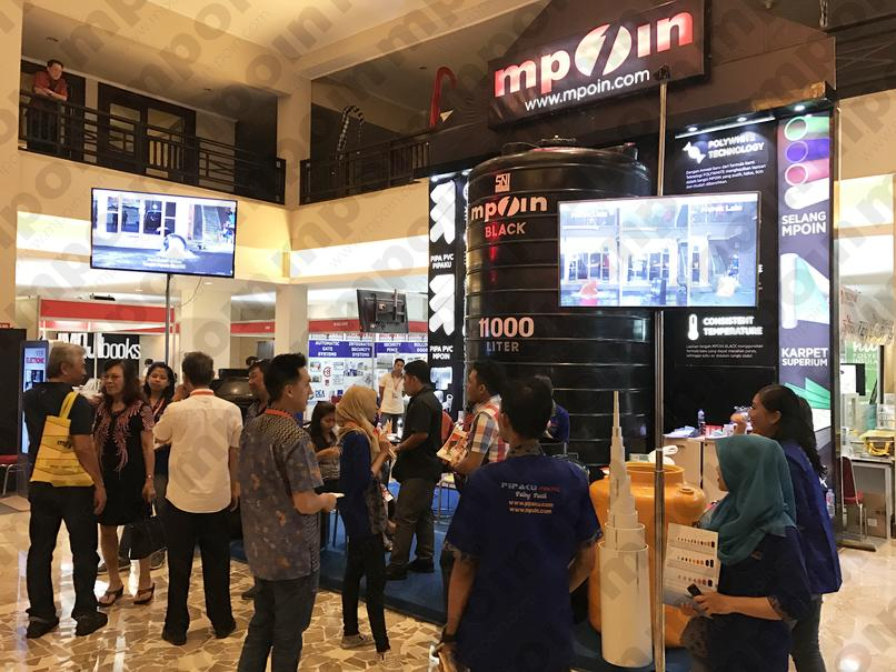 Pameran Indobuild MPOIN Denpasar Bali 2017