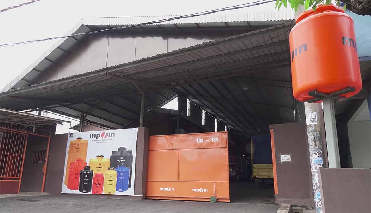 Pabrik MPOIN Gerbang Pintu
