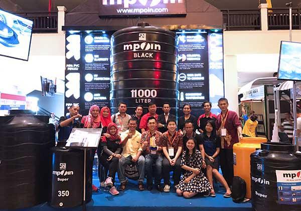 Tangki Air MPOIN Plus - Tandon Air, Toren Event, Pameran