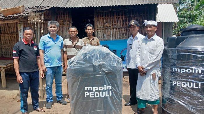 MPOIN PEDULI membantu Desa  Banjar, Desa Tingas, Banjar, Penaga