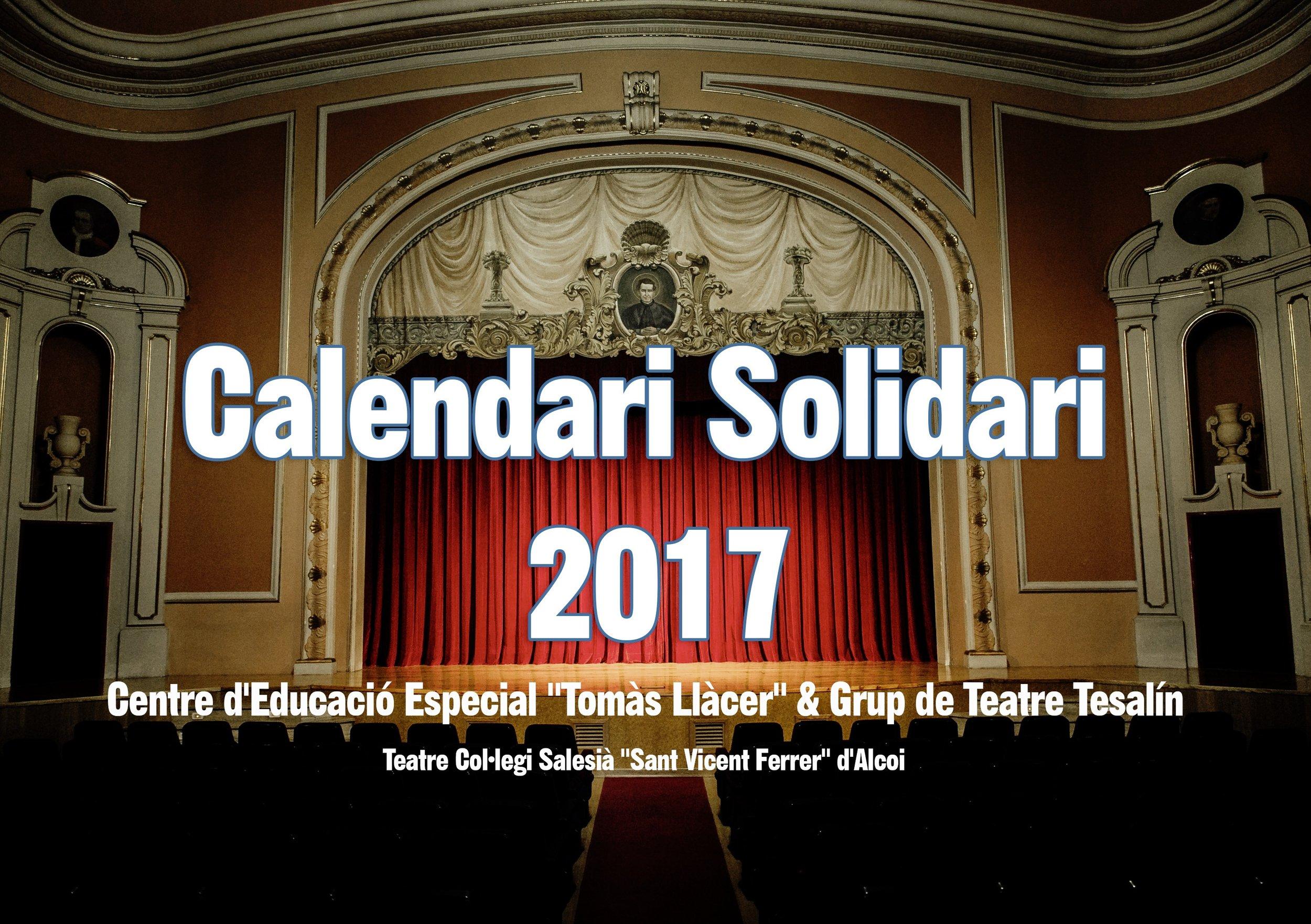 Calendario Solidario 2017 - C.P.E.E. Tomàs Llàcer de Alcoy