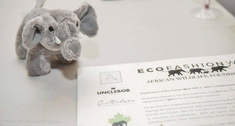 VIP Invitations and Press Release printed on paper made from Elephant Poo