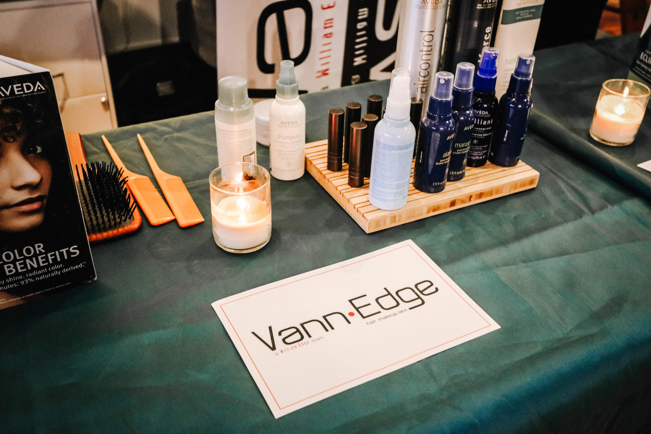 Pictured: Vann Edge Beauty Bar