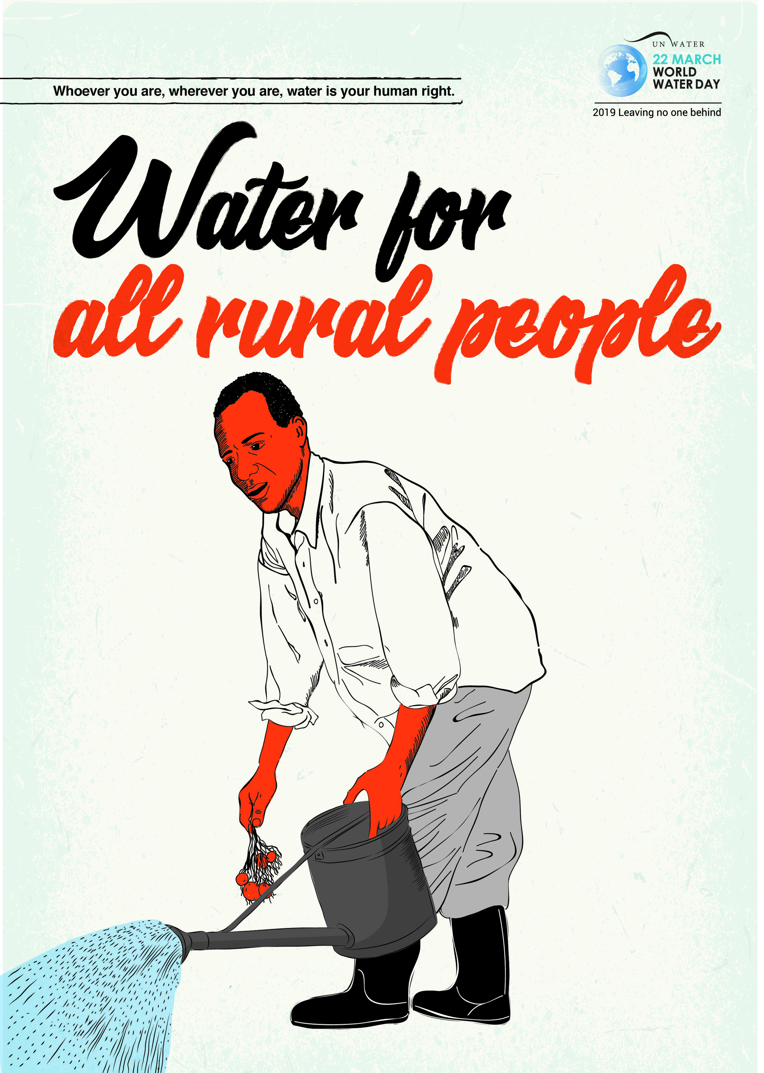 Poster created for World Water Day