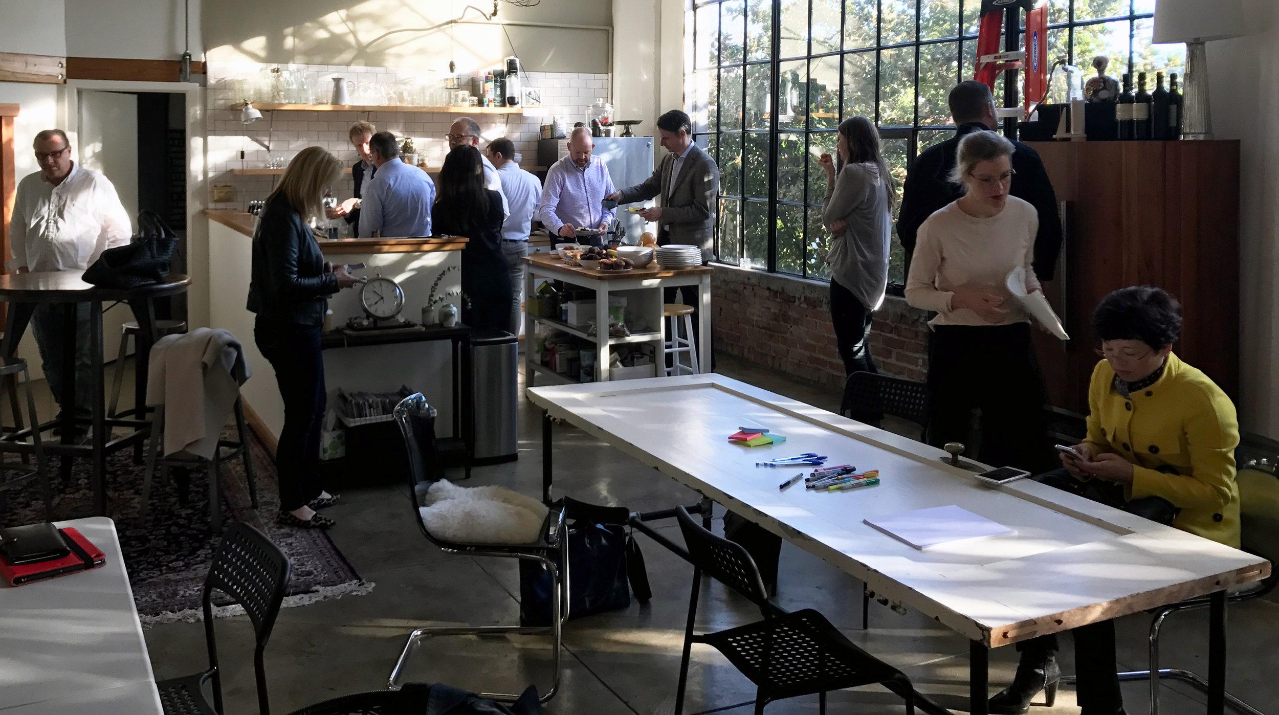 Ideation workshop focusing on BMI Lab case studies.