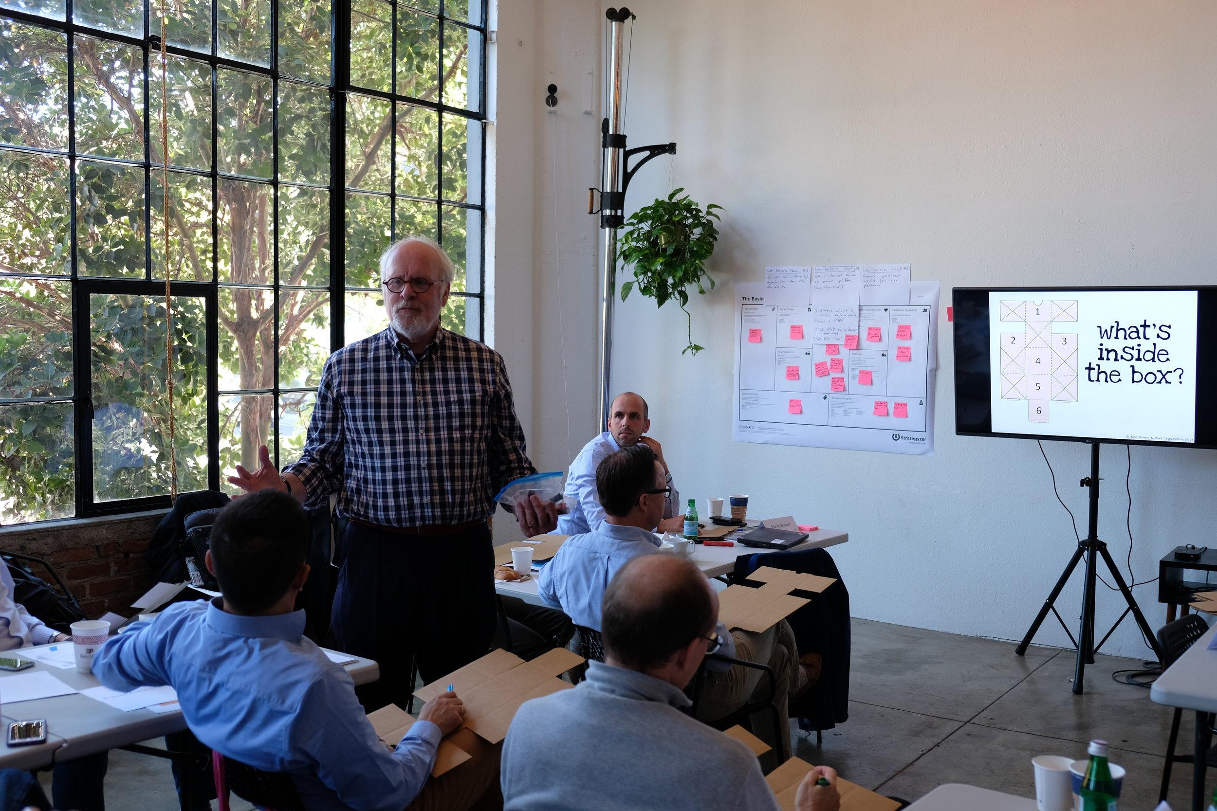 Workshop with John Danner