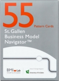BMI Pattern Cards is a good example for the kind of analogy cards used to improve creativity during an innovation process.