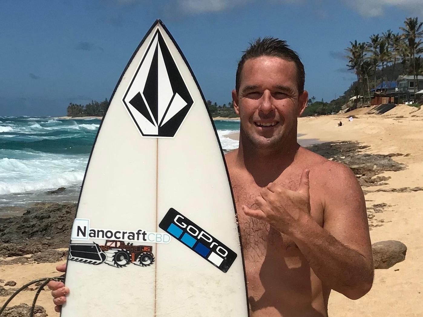 Kalani Chapman, Professional Surfer