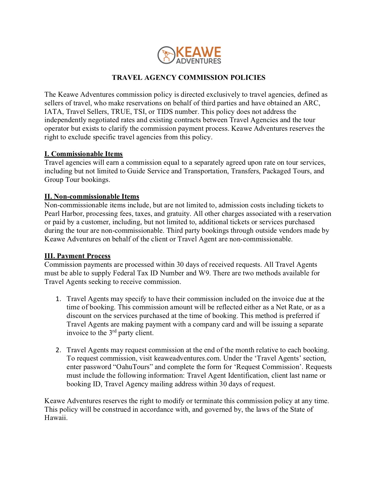 TRAVEL AGENCY COMMISSION POLICIES.jpg