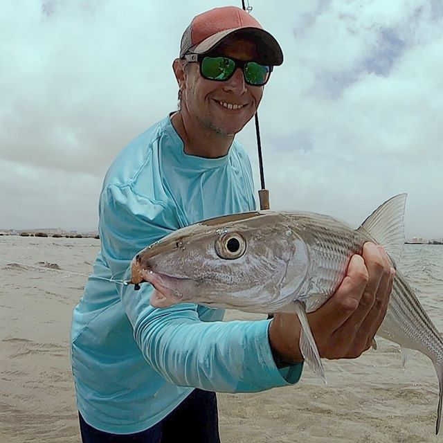 Oh boy!  Look at this guy.  Wait for the video.  Craig managed to catch three in 15 minutes.  Granted we were out there for 10 hours.  #flyfishinghawaii #flyfishhawaii #flyfishing #flyfishingcharters #flyfishingchartershonolulu #fishingcharters #charterfishing #whywefish #followme #flatsfishing #bonefish #bonefishonthefly