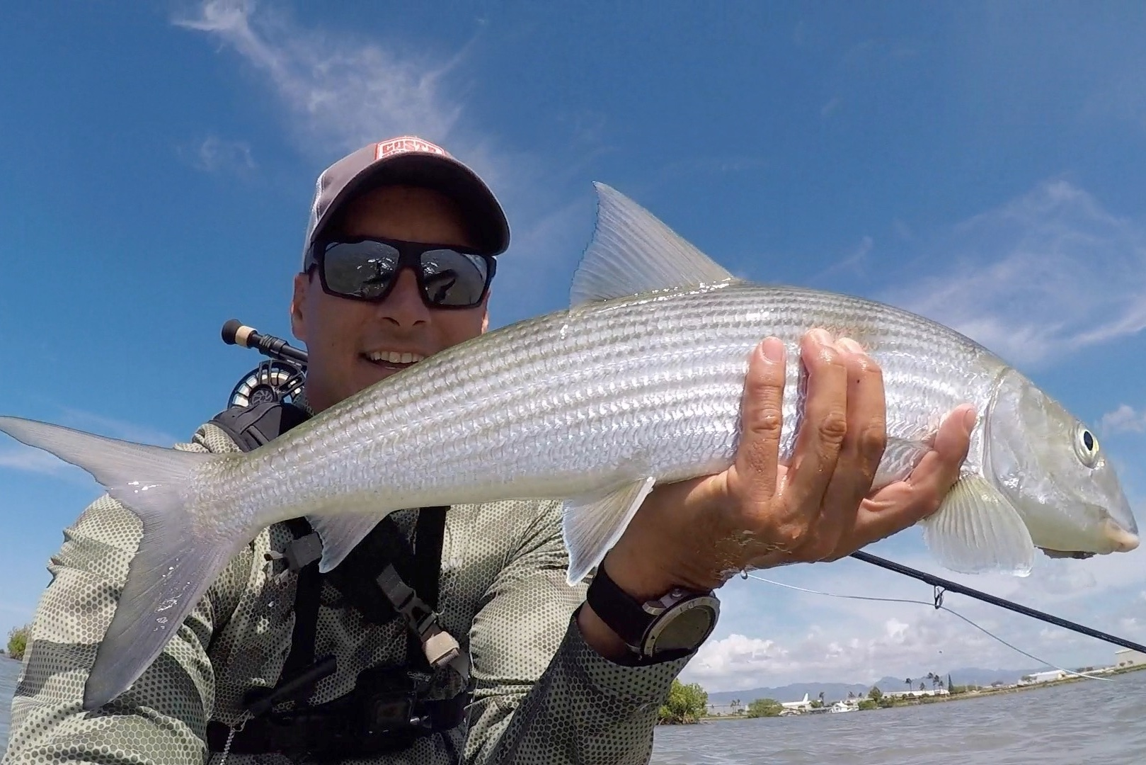 Makani Christensen, Fly Fishing for Bonefish