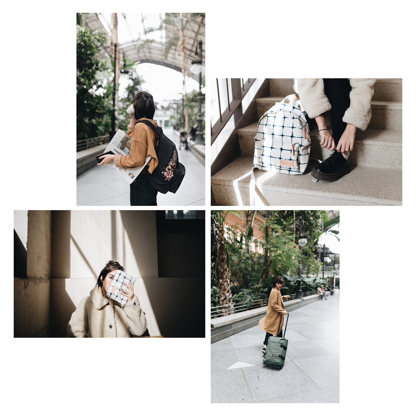 Eastpak - Monthly campaigns content — Madrid — 2017-2018