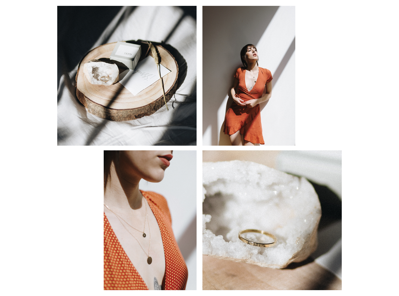 GLDN Jewellry - Product + editorial — Madrid — April 2018