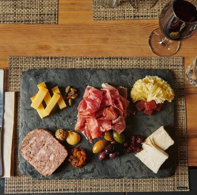 Just another Friday at #BarÀVin... Enjoy a glass of red and create your own fully-customizable cheese & charcuterie board by choosing from over 35 varieties, plus 34 rotating wines by the glass 😍