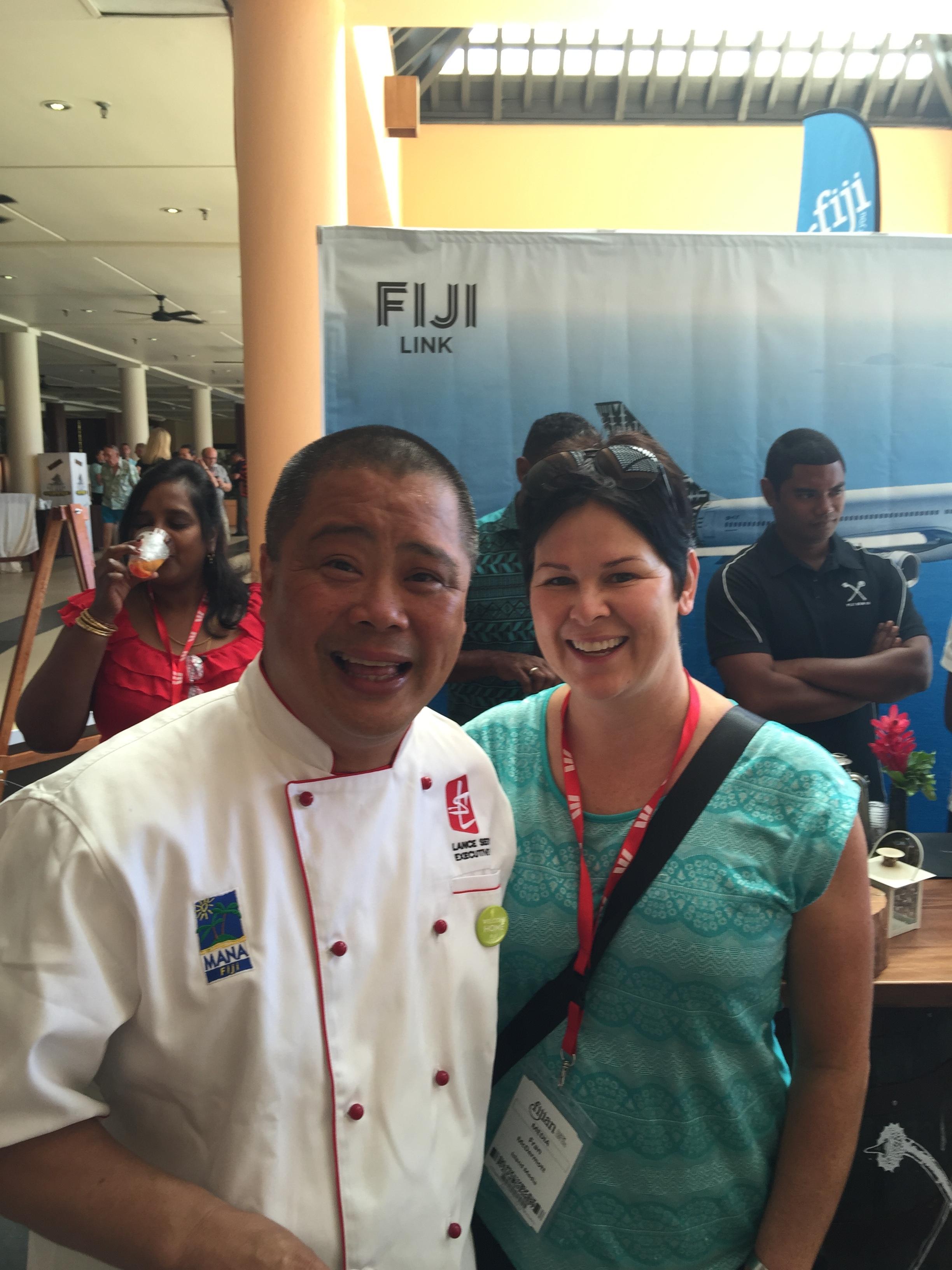 Fijian Tourism Exchange with Chef Lance Seeto