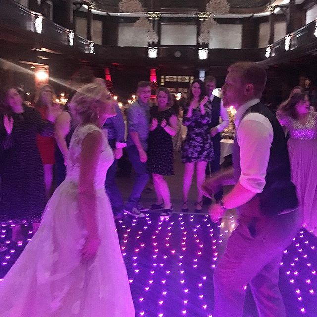 Fun loving bride & groom ✅  Weird & wonderful guests ✅  Beautiful venue ✅  Sparkly dance floor ✅  Incredible live soul band ✅  Can only mean one thing - a brilliant night to remember!  #wedding #weddingparty #livemusic #bride #groom #wedding2019 #musichq #anighttoremember #soulband #disco @exchangehotelcardiff @wearemusichq