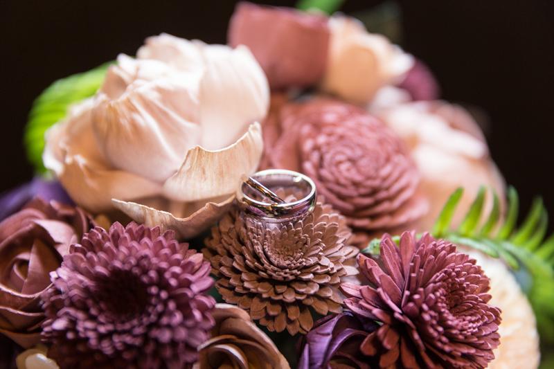 balsa wood wedding bouquet wedding photographer melbourne dandenong ranges victoria