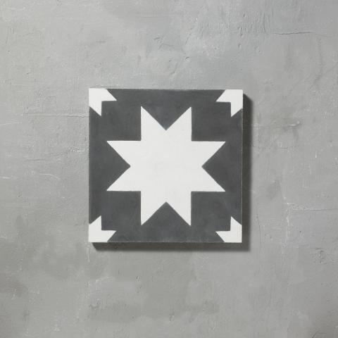 Black Pradena Tile