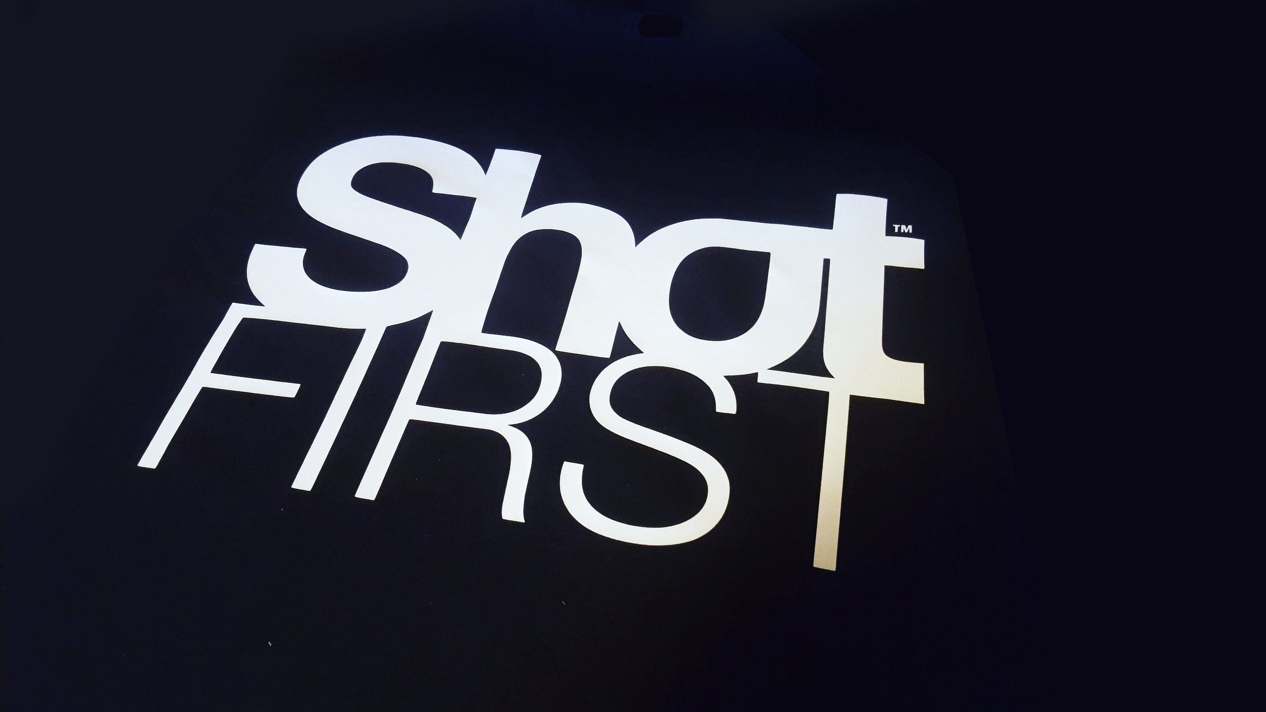 ShotFIRST T-shirt. In honor of those that were not given the benefit of the doubt.