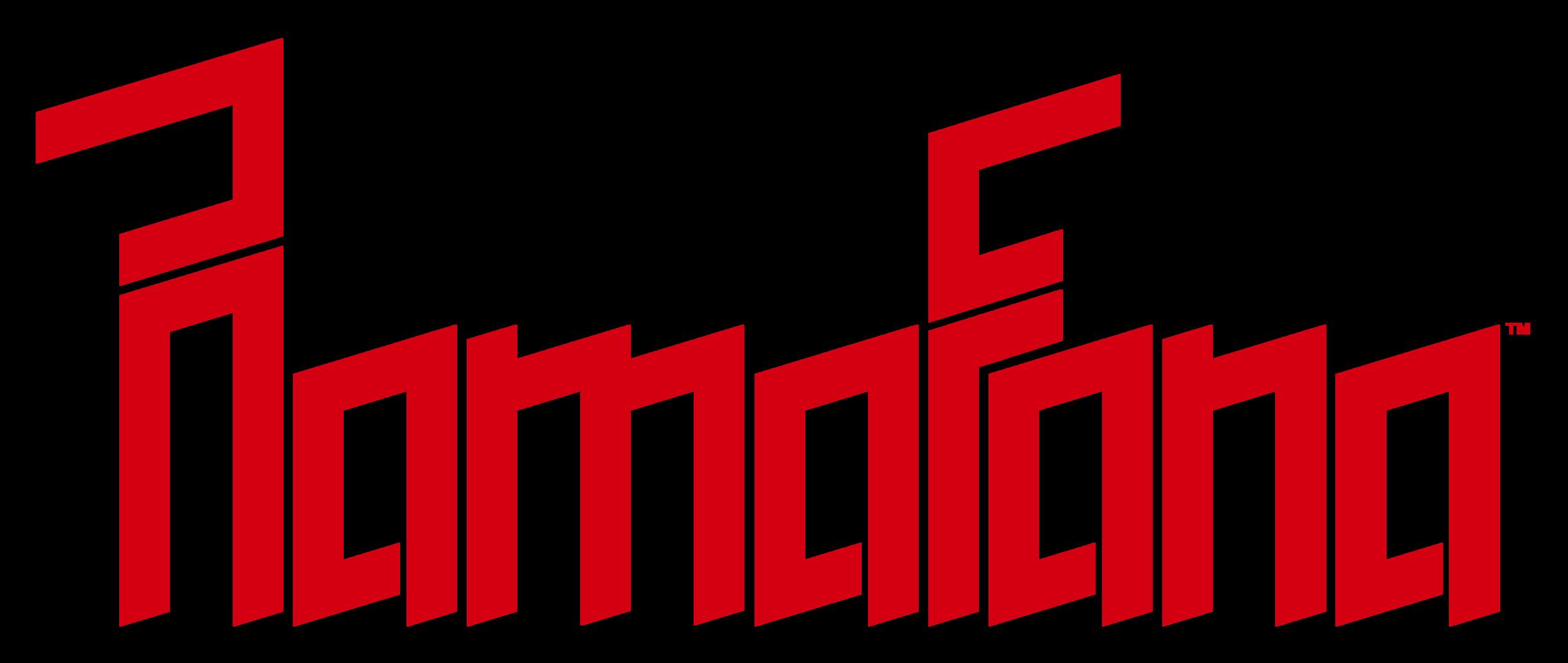 Custom logotype.