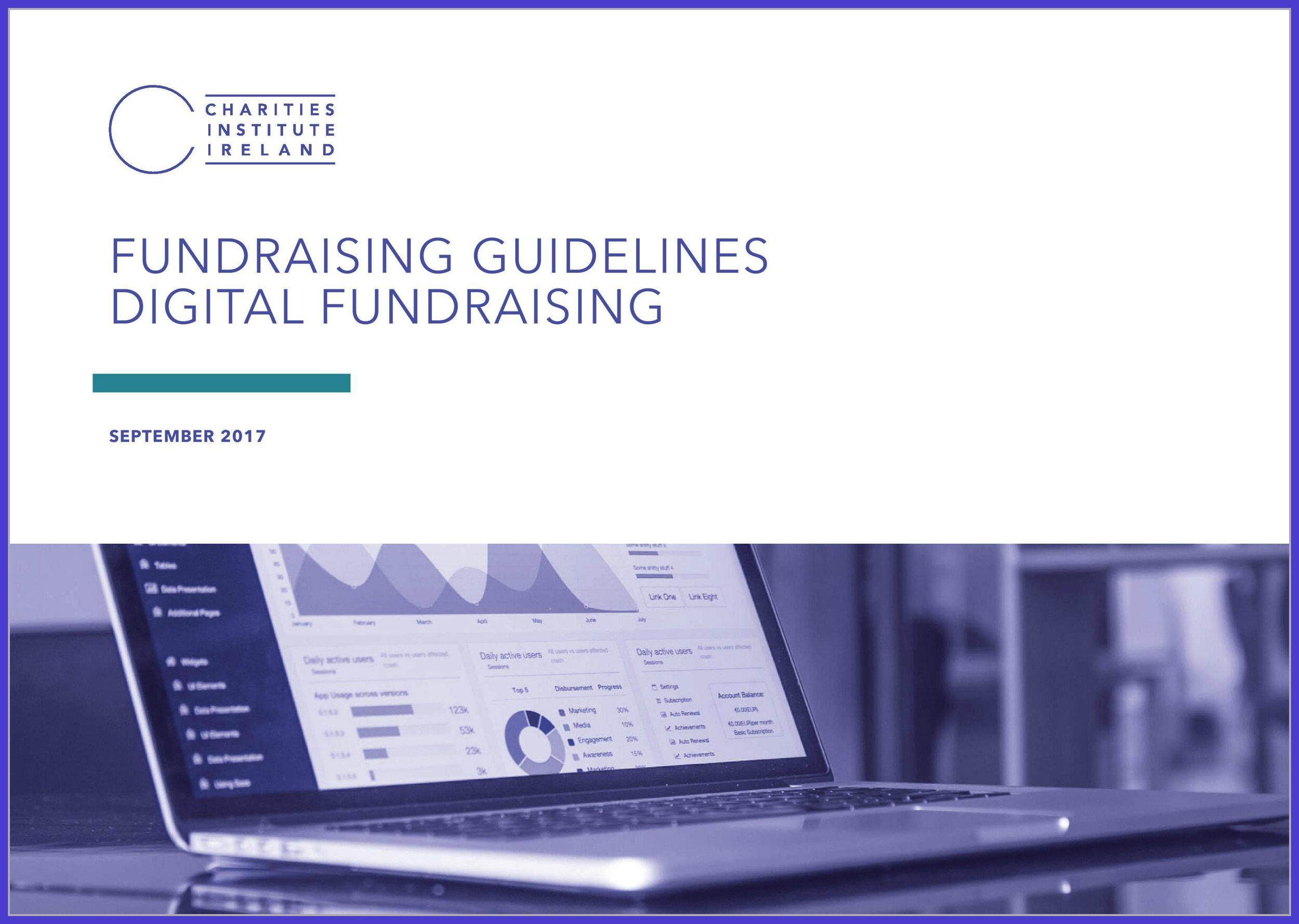 Fundraising Guidelines: Digital Fundraising