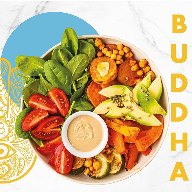 BUDDHA 🥗 Choisissez ce qui la compose☀️ #nomadfood #food #buddhabowl #bowl #healthy #healthyfood #salad #lunch