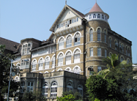 the majestic facade of the Royal Bombay Yacht Club