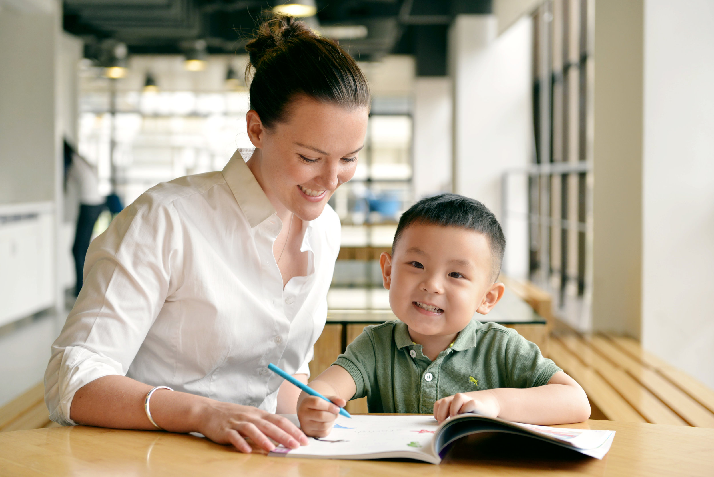 Course Books   Each of our course books are tailor made for the age and level and come with extensive teachers' notes to help teachers plan.
