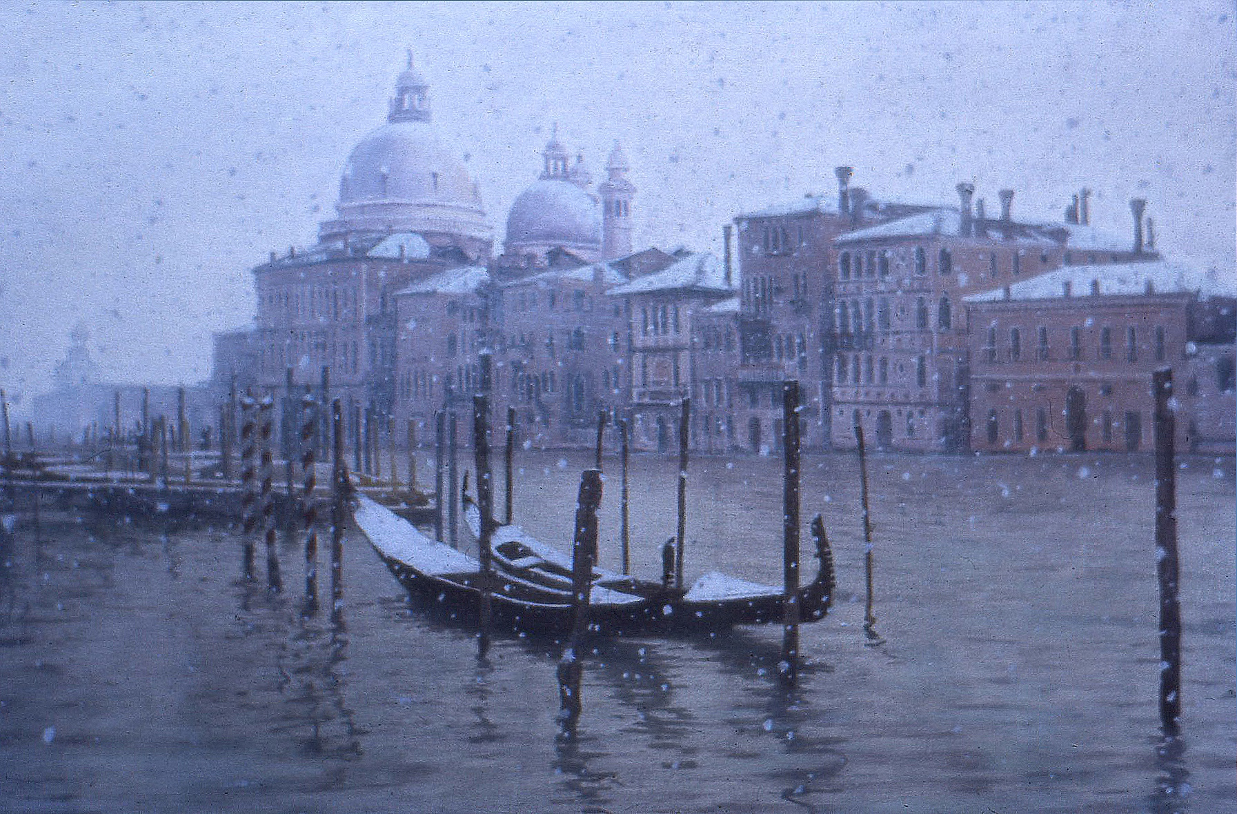 Snow on the Grand Canal