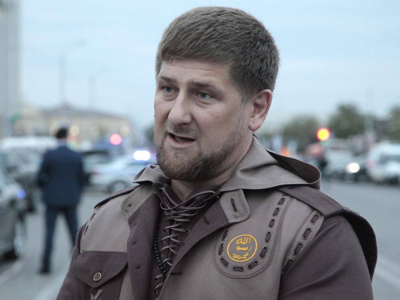 Chechen regional leader Ramzan Kadyrov